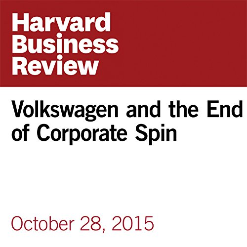 Volkswagen and the End of Corporate Spin audiobook cover art