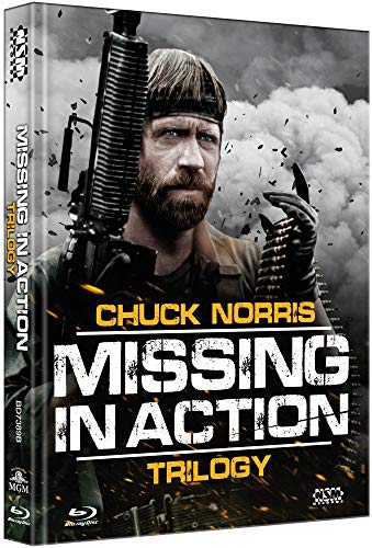 Missing in Action Trilogy [3 Blu-Ray] - uncut - auf 333 limitiertes Mediabook Cover B