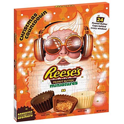 Reese\'s Peanut Butter Cups 2020 Advent Calendar, Milk Chocolate Flavour Mini Cups 248g