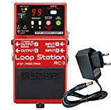 Boss RC de 3Loop Station Efecto de pedal Keepdrum Fuente 9V