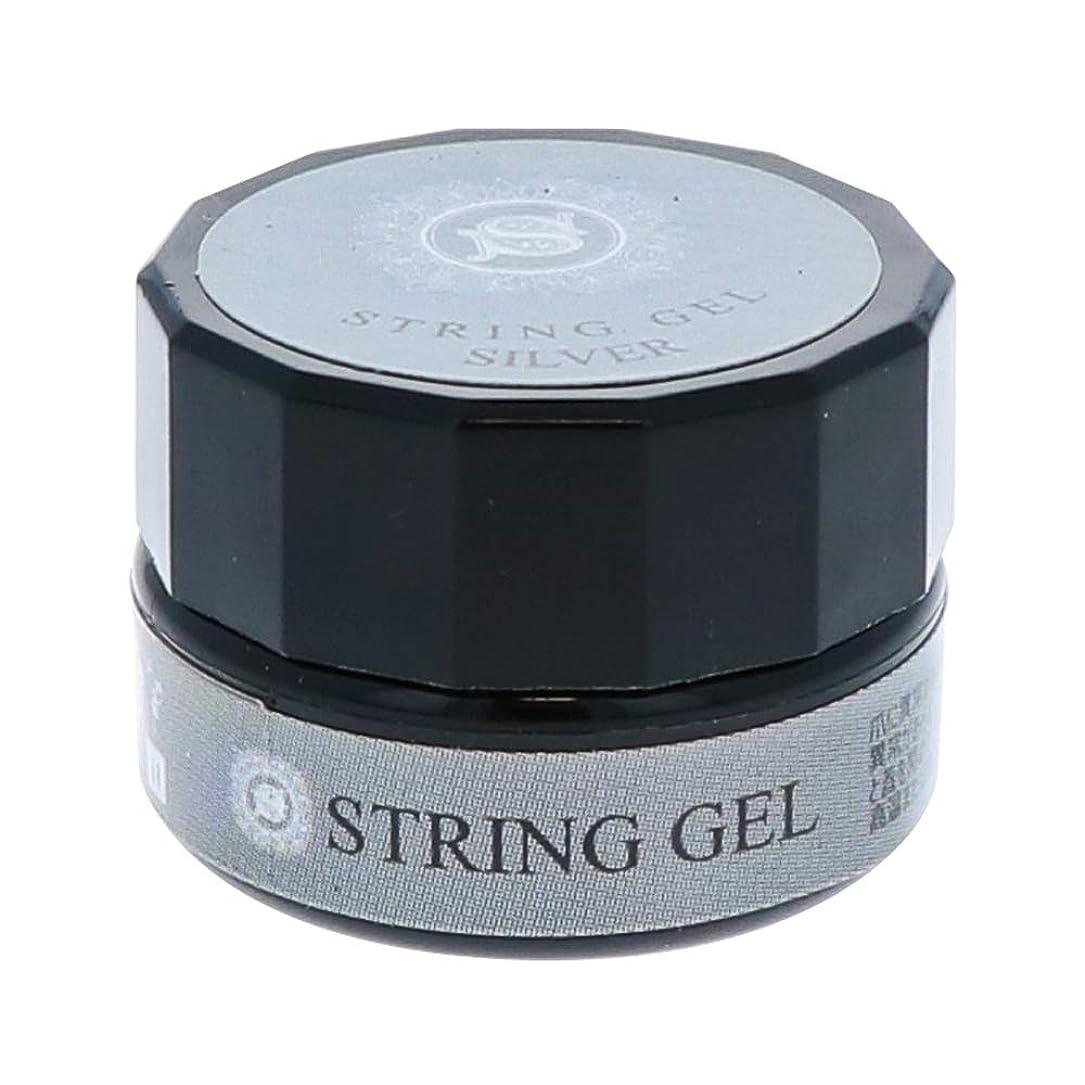 アトミック不正直顎ビューティーネイラー simply string gel (silver) 2.5g QSG-2