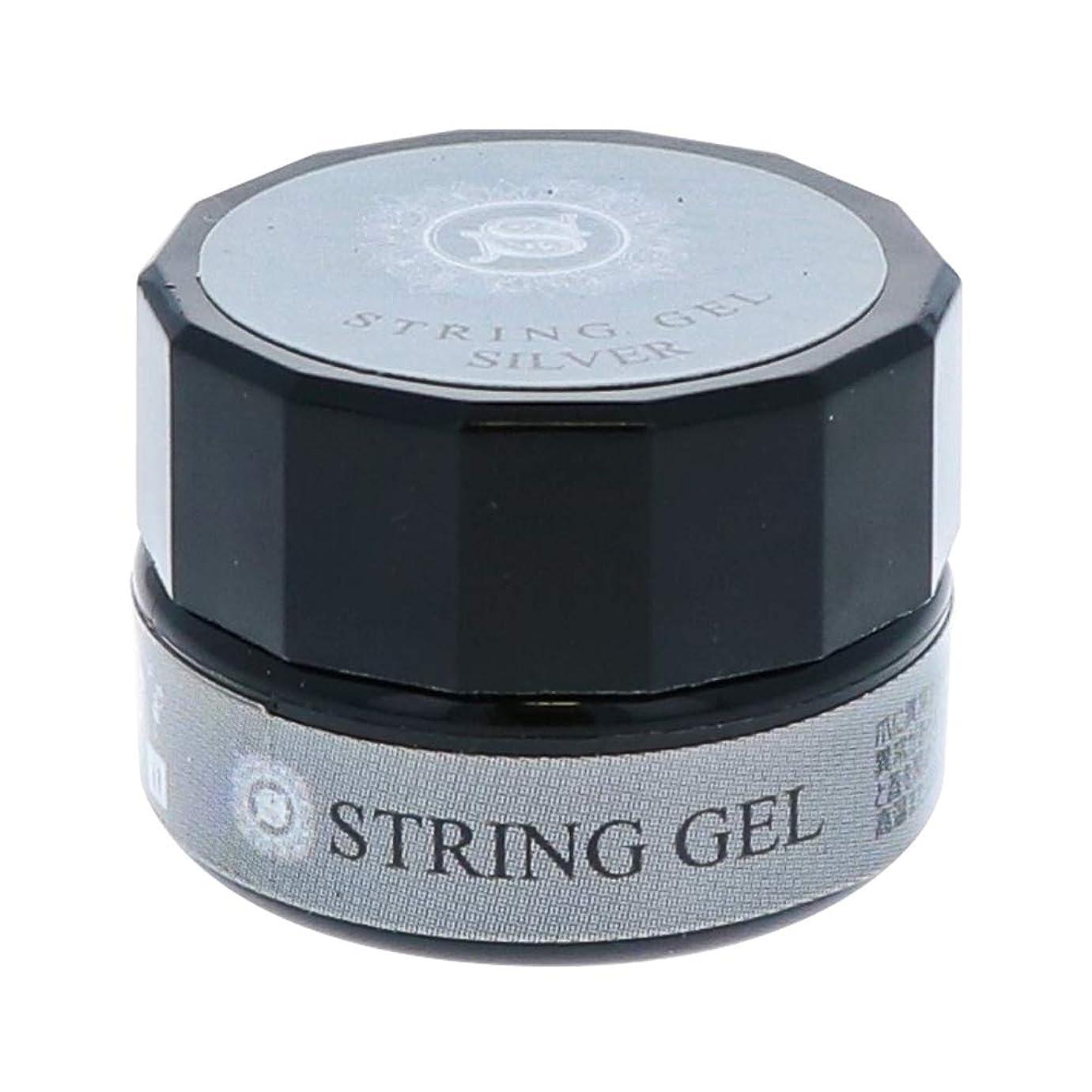 まさに無一文デマンドビューティーネイラー simply string gel (silver) 2.5g QSG-2