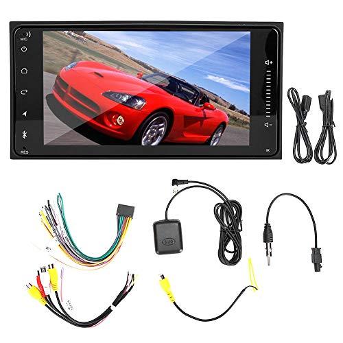 Qiilu 7in Autoradio Radio MP5 Player HD Video WiFi GPS Navigation Passend für Toyota Corolla