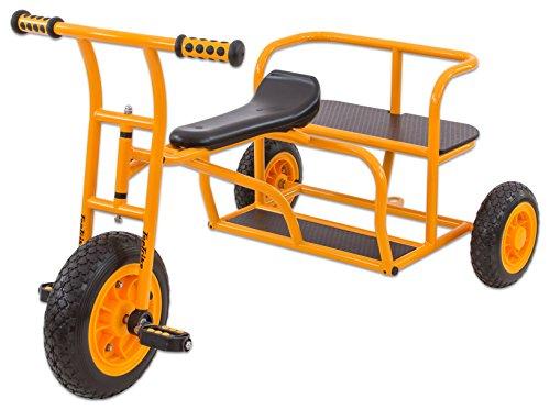 TopTrike Betzold 97870 - Kinder-Dreirad Doppeltaxi - Tretfahrzeug Kinder-Fahrzeug 4-8 Jahre