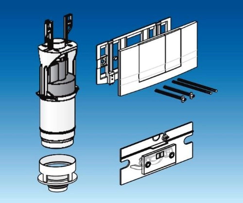 Friatec WC Modernisierungsset Friabloc F100 auf F102, 2 Mengen wei