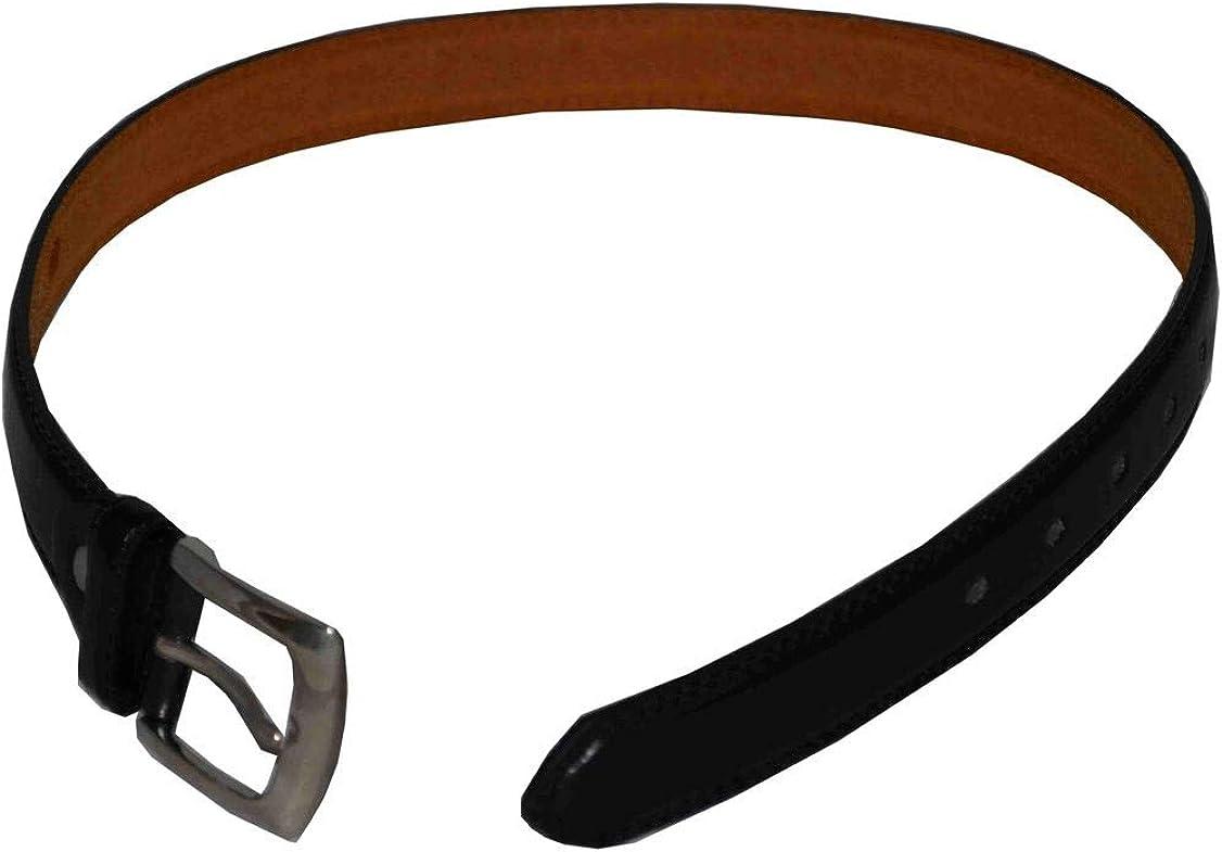Nayt Boys Leather Belt Black