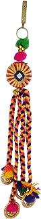 Anuradha Art Multi Colour Thread Jewellery Challa Pom Pom Kamar Patta for Women/Girls