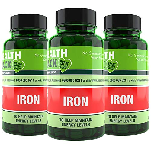 Iron 14mg 270 Tablets | Helps Reduce Tiredness & Fatigue, Supports Normal Oxygen Transportation, Formation of Red Blood Cells & Cognitive Function
