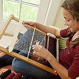 Wooden Weaving Loom Kit - Woven DIY Suit Wooden...