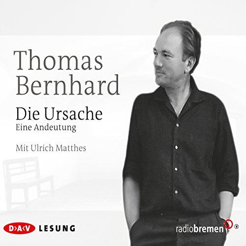 Die Ursache audiobook cover art