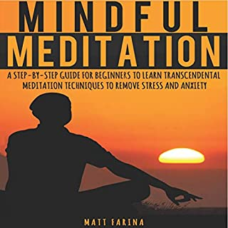 Mindful Meditation audiobook cover art