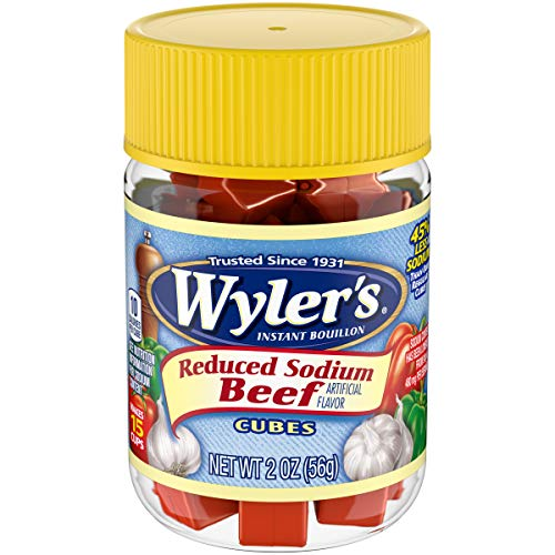 Wyler's Beef Reduced Sodium Instant Bouillon Cubes (2 oz Jar)