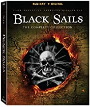 Black Sails S1 - S4 Collection [Blu-ray]