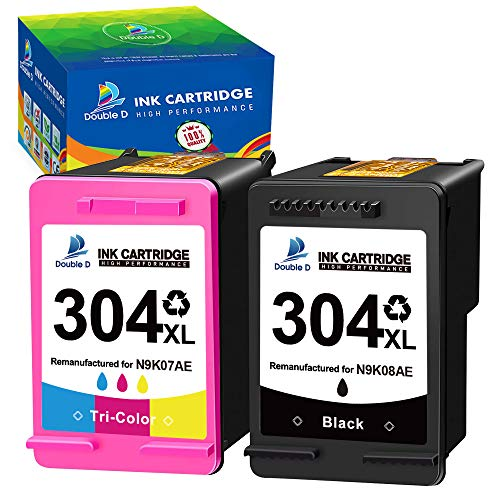 Cartuchos de Tinta Hp 304Xl Marca DOUBLE D