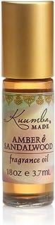 Kuumba Made Amber & Sandalwood Fragrance Oil Roll-On .125 Oz / 3.7 ml (1-Unit)