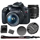 Canon EOS Rebel T7 + 18-55mm f/3.5-5.6 is II Kit | 24.1MP APS-C CMOS Sensor| DIGIC 4+ Image Processor| 3.0' 920k-Dot LCD Monitor
