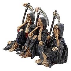Nemesis Now Something Wicked (Set of Three) Figurine 13cm Black #1