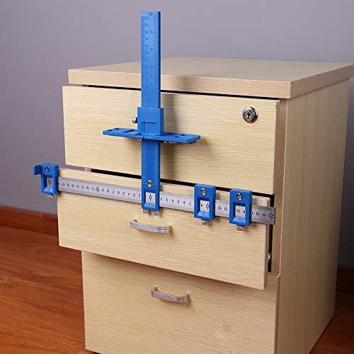 WJW-MUGONGJU, Abnehmbare Lochen Locator Bohrbuchse Holzbearbeitungswerkzeuge Bohren, Dübeln, Locher Jig Werkzeug Säge Verstellbare Handwerkzeug (Color : 1)