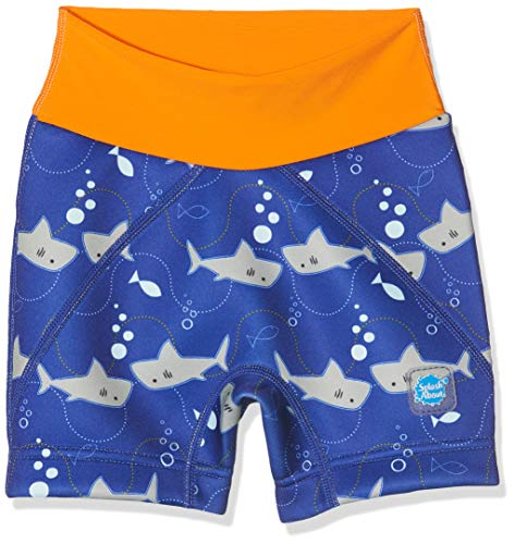 Splash About Kinder Jammers, Shark Orange, 2-3 Jahre