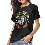 ベーシックtシャツ レディース 半袖 ジャニス・ジョプリン Janis Joplin シンプル カジュアル ショートスリーブカ クルーネック 快適 吸汗速乾 夏 ベースボールウェア