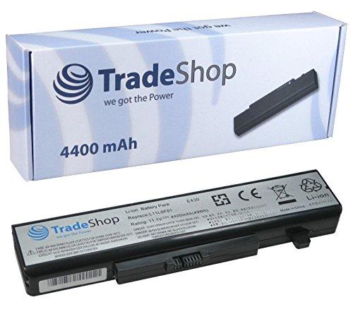 Trade-Shop High-Performance Li-Ion Laptop Battery 10.8/11.1V 4400mAh for IBM/Lenovo Ideapad Thinkpad Edge E4303254XXX E4306271XXX E430°C–3356XXX E435–3256XXX E4353269XXX E5303259XXX E530–6272XXX E530°C-3366XXX E5353260XXX