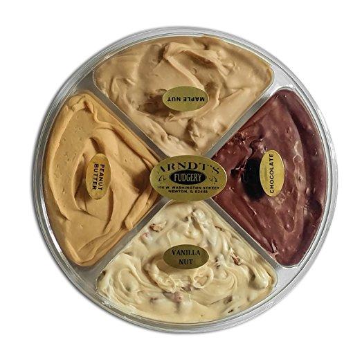 Four Flavor Gift Wheel of Fudge - 1 1/2 Lb