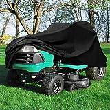 Fgasad, copertura per tosaerba da esterni, resistente e impermeabile, con coulisse, protezione dai raggi UV, misura universale