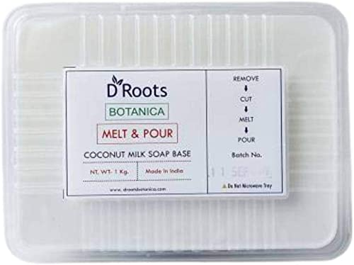 Roots D Botanica Coconut Milk Soap Base - FOR GLOWING SKIN CARE