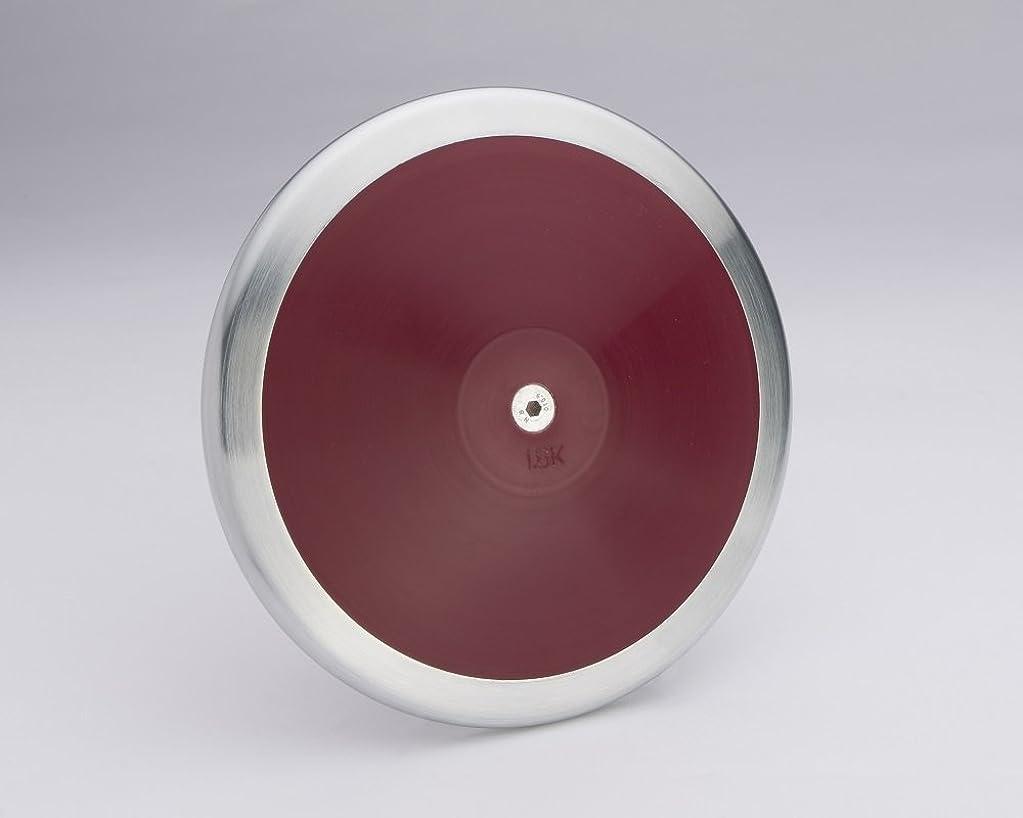 内なる反映する刺繍ビギナーハイスクール ボーイズ 1.6キロ トラック&フィールド円盤 公式サイズと重量。 競技または練習用 -
