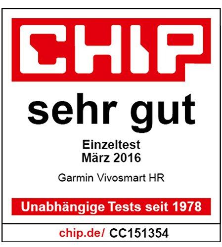 Garmin vívosmart HR Fitness-Tracker – integrierte Herzfrequenzmessung am Handgelenk, Smart Notifications, Schwarz, M – L (13,7-18,8 cm) - 15