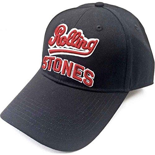 Rolling Stones Baseball Cap Team Stones Band Logo Nue offiziell