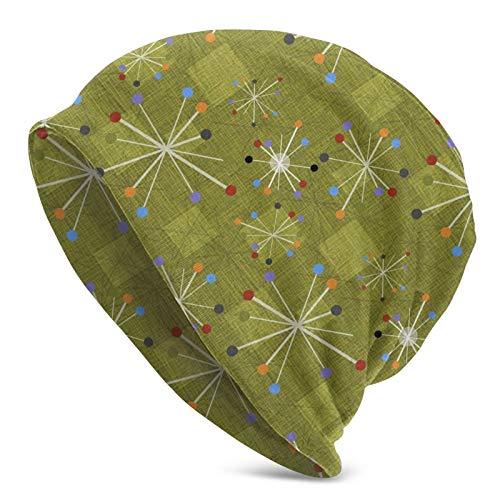 longdai Mid Century Stars Nelson Clocks Green Thermal Running Sombreros Cubrir Orejas...