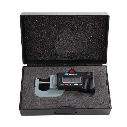 Medidor de espesor-Medidor de espesor digital Metal Horizontal electrónico Espesor Micrómetro Joyería Regla de perlas