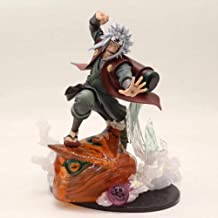 Rqcaxn Model Dolls Statues Figurines Toad Sage Jiraiya Action Figure Decorations for Home Anime Character Model Toys Appro...