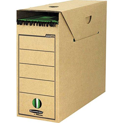 Bankers Box Earth Series Premium A4 Hängemappenarchiv (aus stabiler Wellpappe, B11.70 x H26.50 x T32.20 cm) 10 Stück