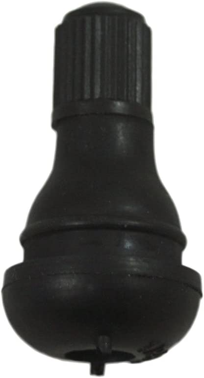TR413 ABN Snap-In Average Length Rubber Valve Stem 12-Pack Tubeless 0.453""