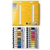 Winsor & Newton acrílico Galeria - Set de iniciación a la pintura acrílica, 20 colores de 12 ml