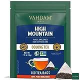 VAHDAM, Té Oolong del Himalaya (100 Bolsitas de Té) – Tisana Detox 100% Natural   Infusión de Oolong 100% Puro, Sin Mezclar   Fácil de Preparar – Caliente, Frío o como Kombucha