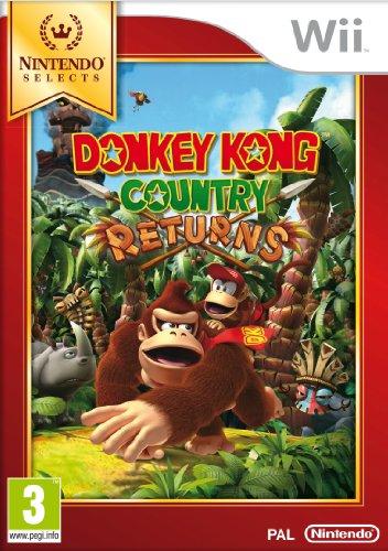 Nintendo Donkey Kong Country Returns, Wii Básico Nintendo Wii Francés vídeo - Juego (Wii, Nintendo Wii, Plataforma, Modo multijugador, E (para todos))