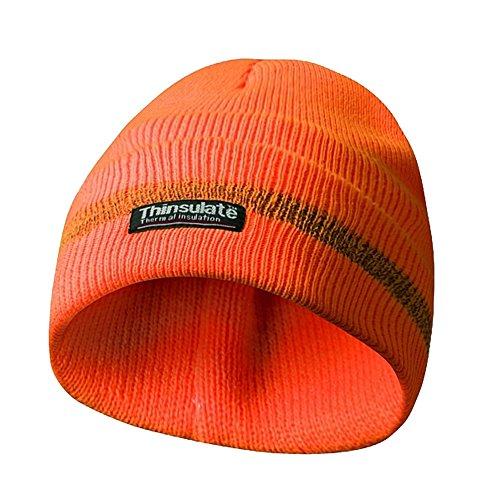 HaWe 700.00 Wintermuts oranje met reflecterende strepen