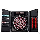 Best Electronic Dart Boards - MD Sports New Haven Electronic Dartboard with Cabinet Review