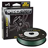 Spiderwire SDR4B10G-200 DURA-4 Braided Fishing Line, 200 yd, 10 lb, Moss Green, 200 yd/ 10 lb