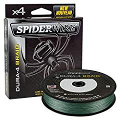 Spider-sensitivity with near-zero stretch Line diameter 2 to 3 times smaller than mono of the same pound-test Braided line provides increased strength Slick outer coating promotes increased casting distance Moss-green color blends into most backgroun...