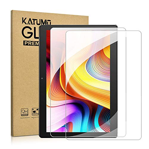 KATUMO [2 Pack] Screen Protector for Tablet 10 inch Tempered Glass for MatrixPad 10', Winsing 10.1', YESTEL 10', TECLAST P10, YELLYOUTH 10.1', Lnmbbs 10.1' Film