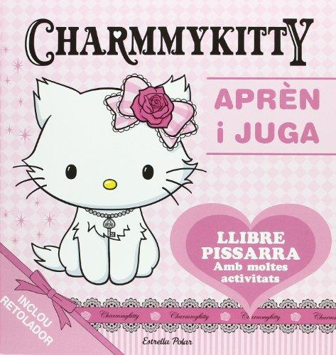 Aprèn i juga amb la Charmmykitty: Llibre pissarra amb moltes activitats