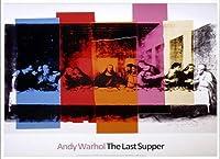 ポスター アンディーウォーホル Detail of The Last Supper 1986年 額装品 アルミ製ベーシックフレーム(ホワイト)