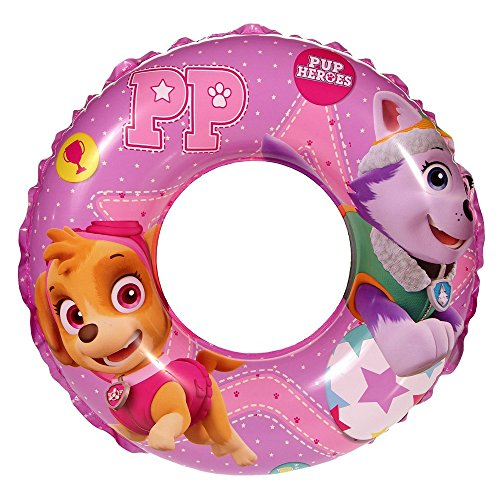 GUIZMAX Compatible avec Bouée Disney La Pat Patrouille Enfant Rose