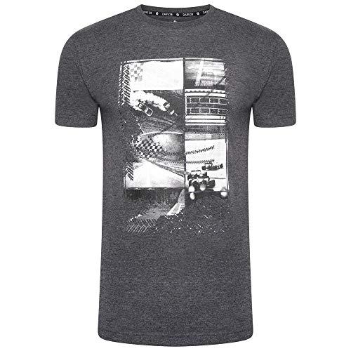Dare 2B Devout II-Maglietta a Maniche Corte da Uomo, t-Shirt, Grigio Carbone, M
