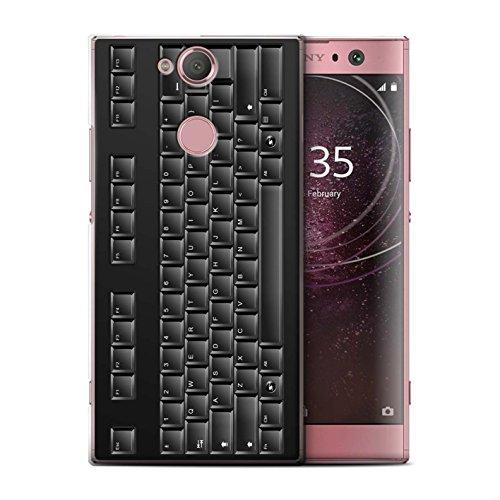 Stuff4 Hülle/Case für Sony Xperia L2 / Tastatur Muster/Schaltfläche/Tasten Kollektion