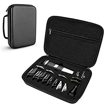 Yinke Case for Philips Norelco Multigroom Series 5000 MG5750/49 Beard Trimmer & attachments Travel Storage Bag Hard Case Organizer  Series 5000
